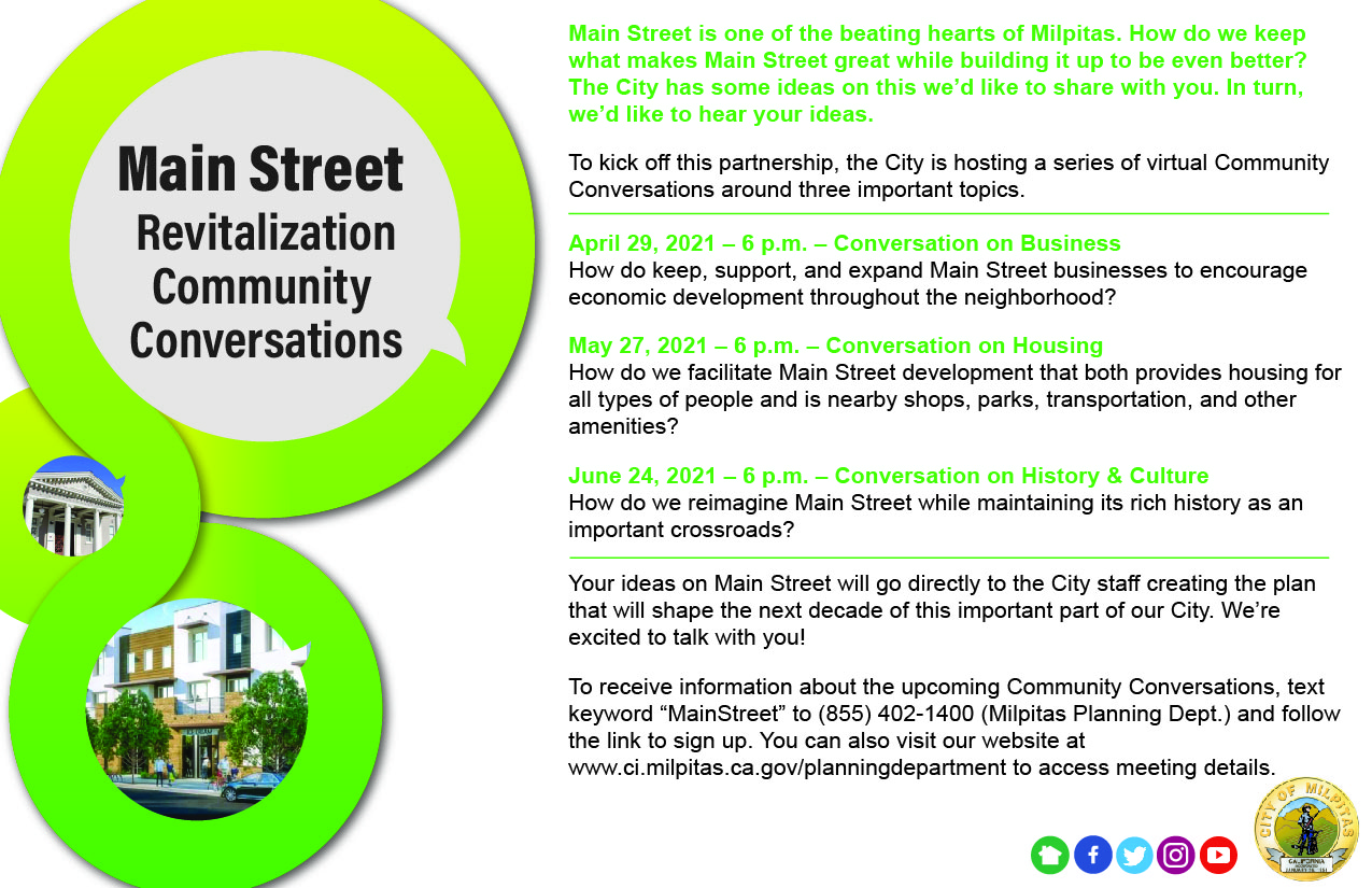 Main Street Revitalization Community Conversations