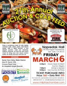 27th Annual Auction & Crab Feed