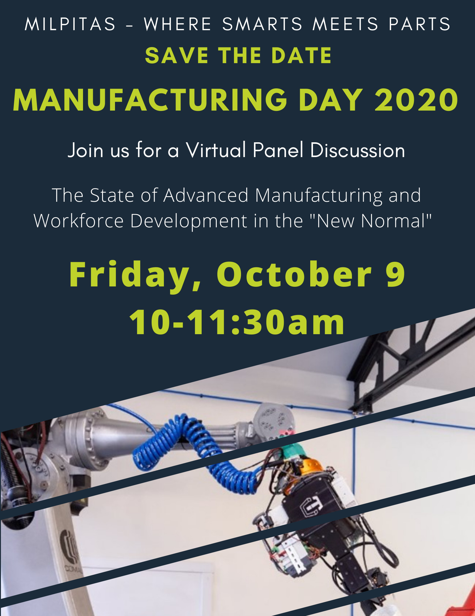 Manufacturing Day - Save the Date