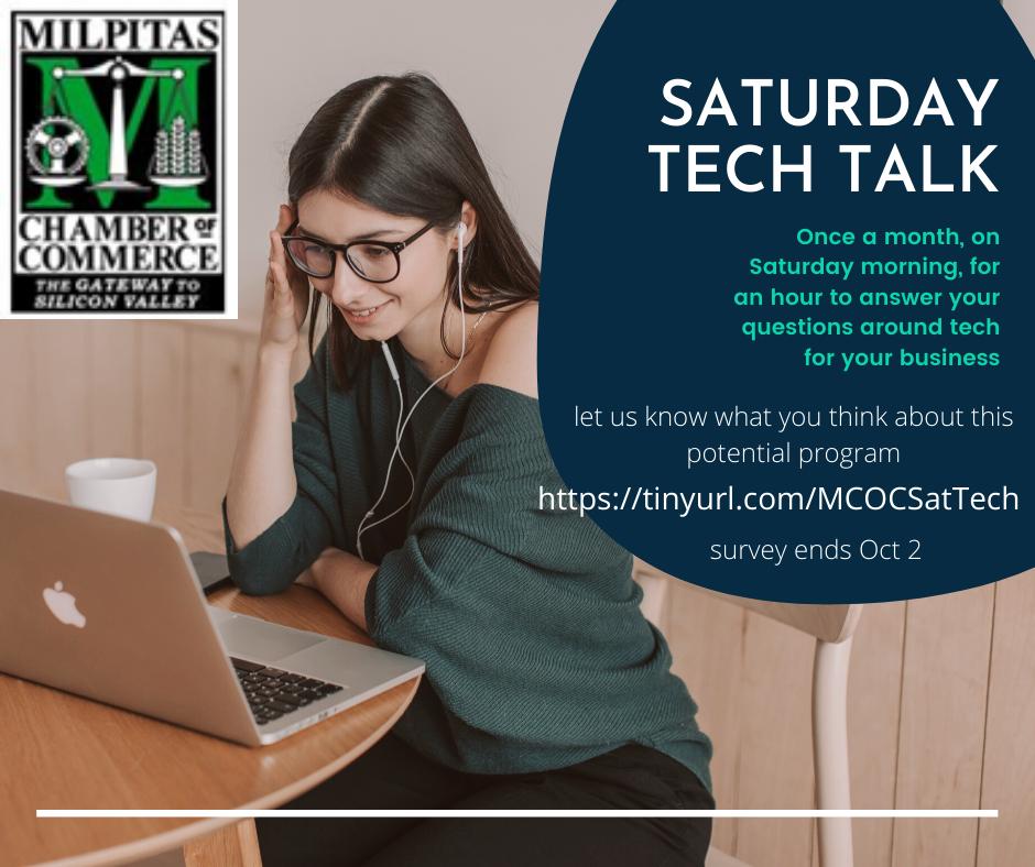 Saturday Tech Talk